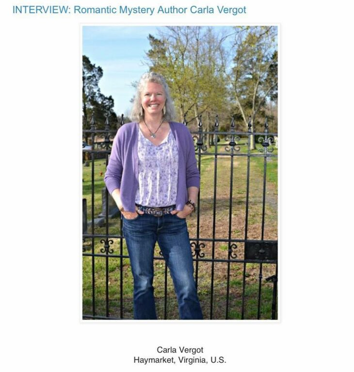 Interview With Author Carla Vergot